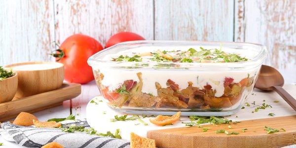 Eggplant Fatteh - فتة باذنجان