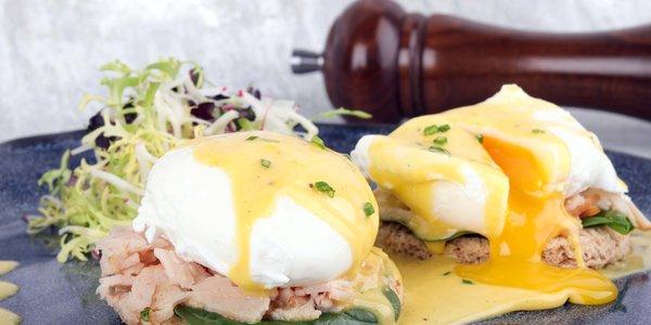 Egg benedict - بيض بنديكت