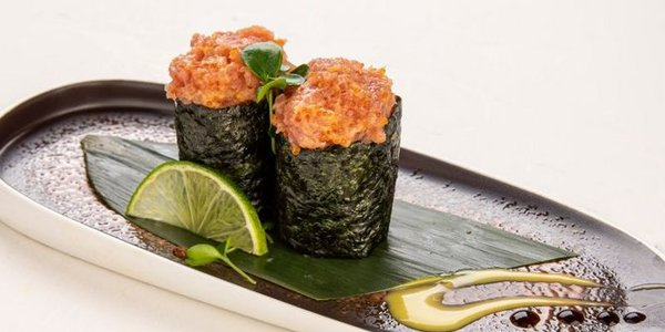 G7. Gunkan Spicy Tuna