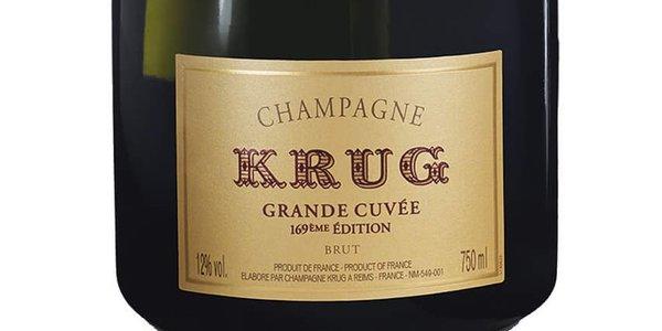 KRUG Grande Cuvée Brut 169ème Édition