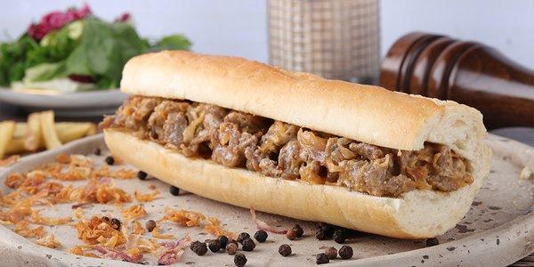 Steak sandwich - سندويتش ستيك