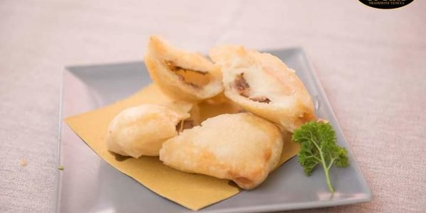 Mozzarella in carrozza - gusti vari