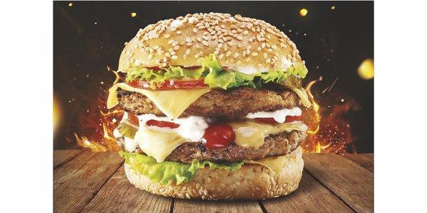 X X L Burger