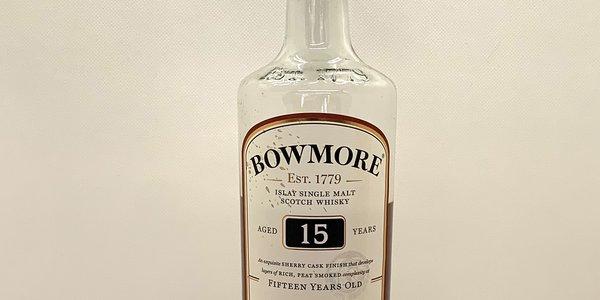 Whisky Single Malt Bowmore 15 Anni