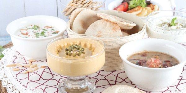 Arabic breakfast  - فطور عربي