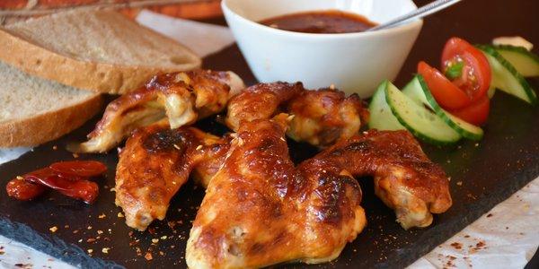 جوانح الدجاج المشوي