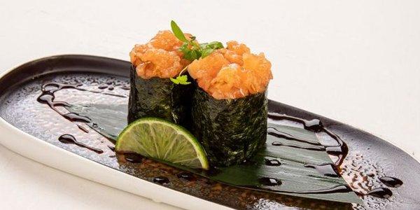 G1. Gunkan Sake (salmone)