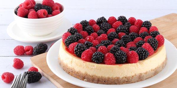New York Berry Cheesecake - نيويورك تشيز كيك بالتوت