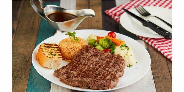 Twice Marinated Steak