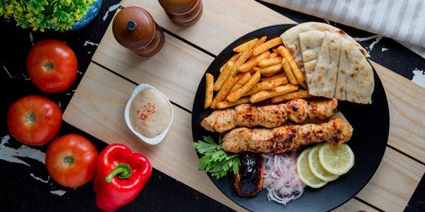 Kalamaki Chicken Plate