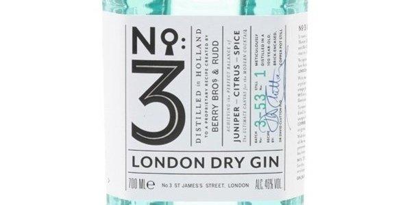 London Dry Gin No.3