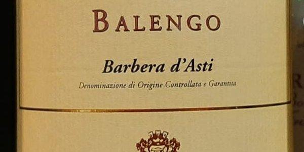 "Barbera d'Asti ""Balengo"" DOCG, Lorenzo Zanetta"