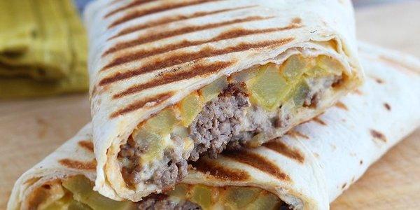 Tacos viande hachée