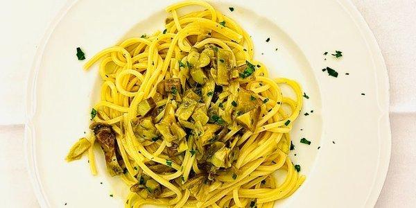 Spaghetto al carciofo