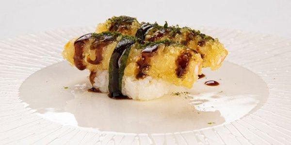 N9. Nigiri Ebi Tempura (gambero tempura)