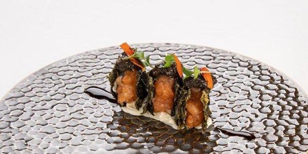 A1. Crispy Salmon
