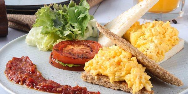 Scrambled Egg - بيض مخفوق