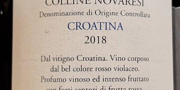 Croatina DOC, Colline novaresi, Lorenzo Zanetta