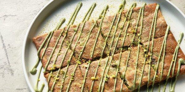 Pistachio Crepe