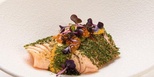 S11. Tataki Salmon