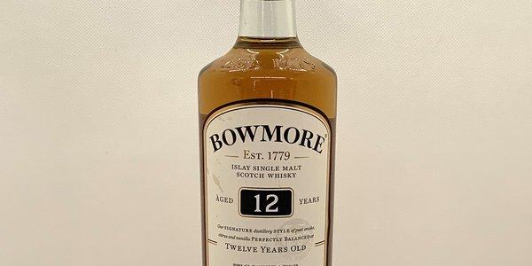 Whisky Single Malt Bowmore 12 Anni