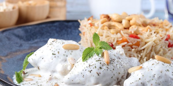 Kibbeh Bil Laban Meal - وجبة كبة باللبن