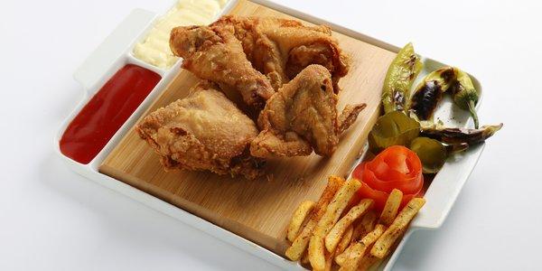 صحن برستد دجاج