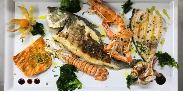 °MIX OF GRILLED FISH