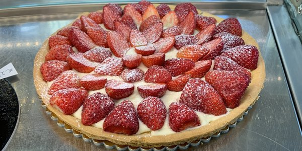 Crostata Lampone/Fragole 6/8 Pers.