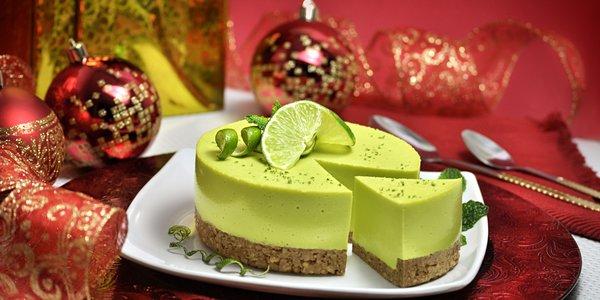 Dolce natalizio al limone