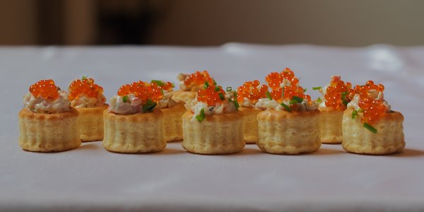 Vol au vent al Bettelmatt e ribes