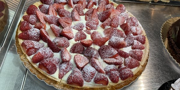 Crostata Fragole/Lampone 10/12 Pers.