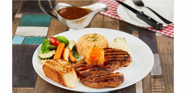 Tobasco Chicken Steak