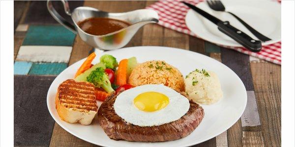 Texas Bulls Eye Steak