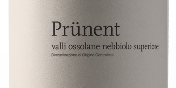 Prünent DOC Nebbiolo Superiore, Cantine Garrone, Domodossola (VCO)