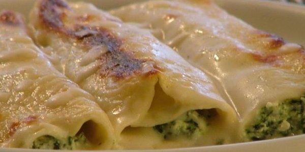 Canelones Ricotta y espinaca