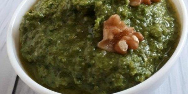 Salsa Pesto nueces