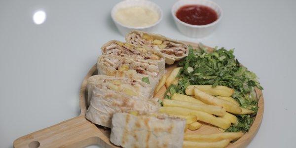 شاورما لحم عربي