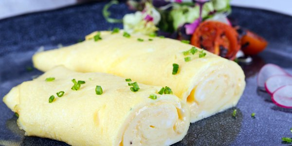French omelette - اومليت فرنسي